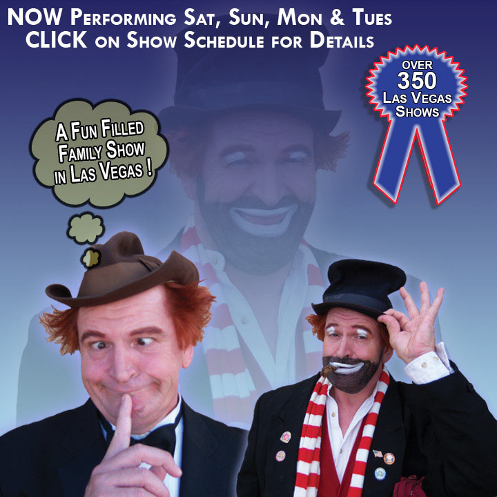 Las Vegas show tickets to Red Skelton Comedy Show Starring Brian Hoffman