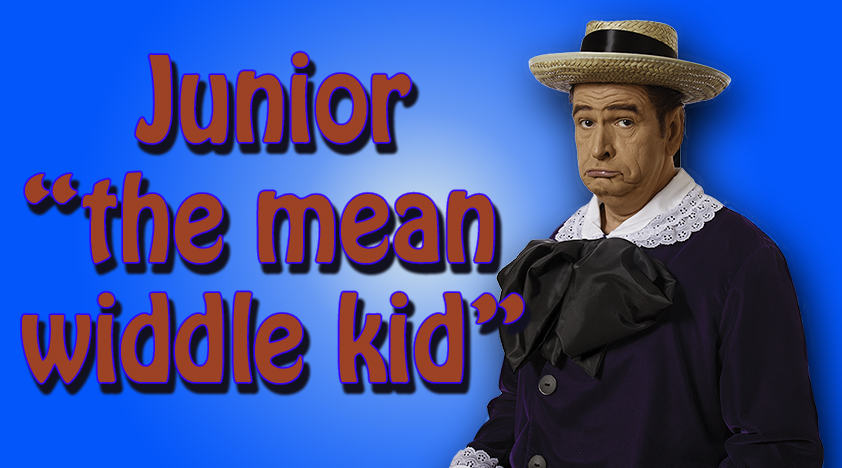 Red Skelton Character Junior the Mean Widdle Kid