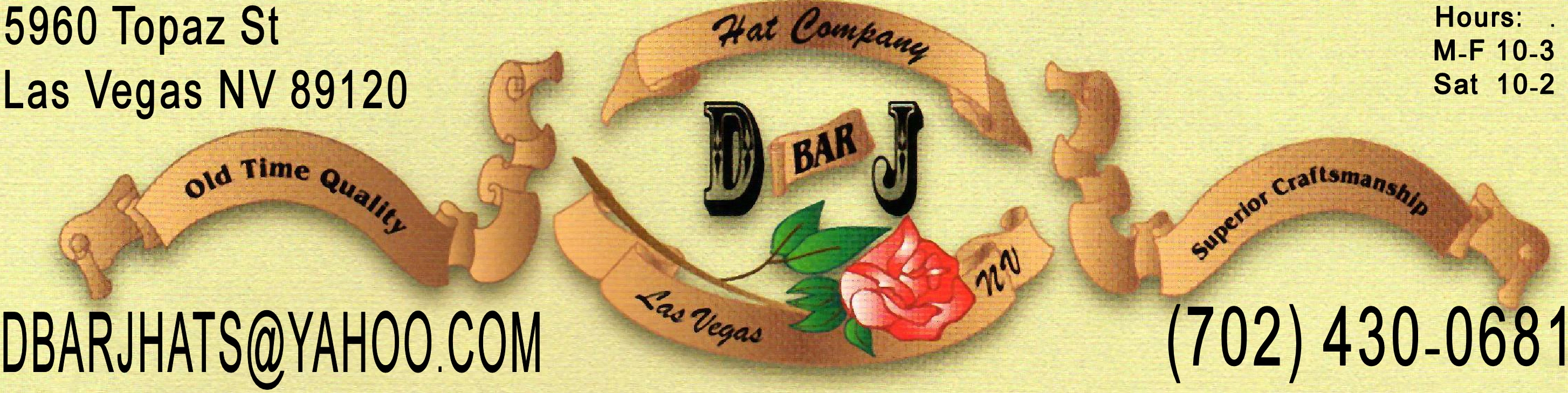 D bar J Hat Co