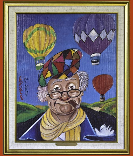 Red Skelton Artwork Up and Away